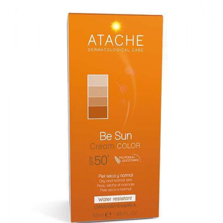 Be sun Cream color - Солнцезащитный антивозрастной флюид SPF 50+ 50 мл