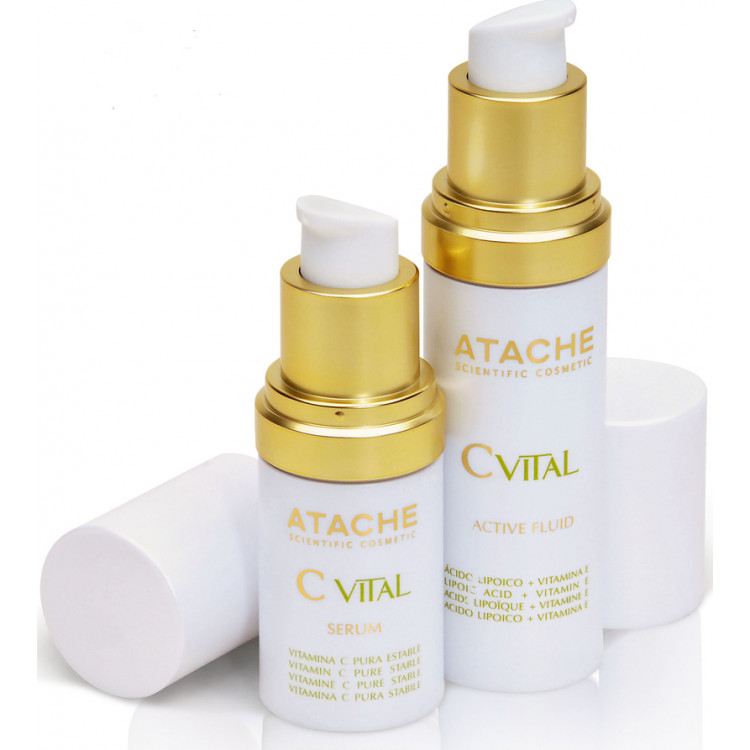 C vital serum + active fluid - Поддерживающая сыворотка 15 мл + Флюид активного действия 30 мл