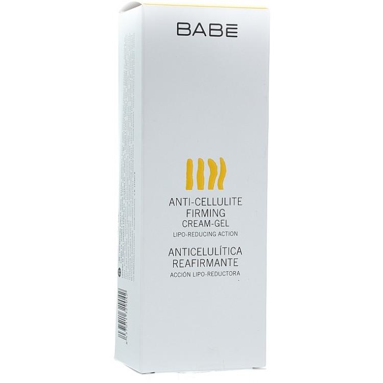 Babe Laboratorios Anti-Cellulite Firming Cream-Gel - Антицеллюлитный укрепляющий крем-гель 200 мл