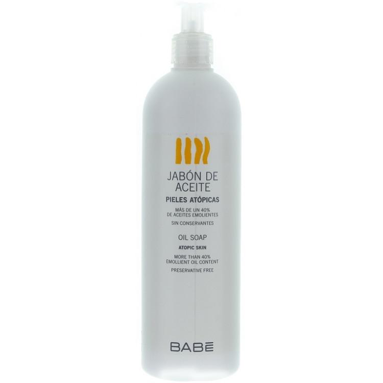 Babe Laboratorios Oil Soap - Масляное мыло для сухой проблемной кожи 500 мл