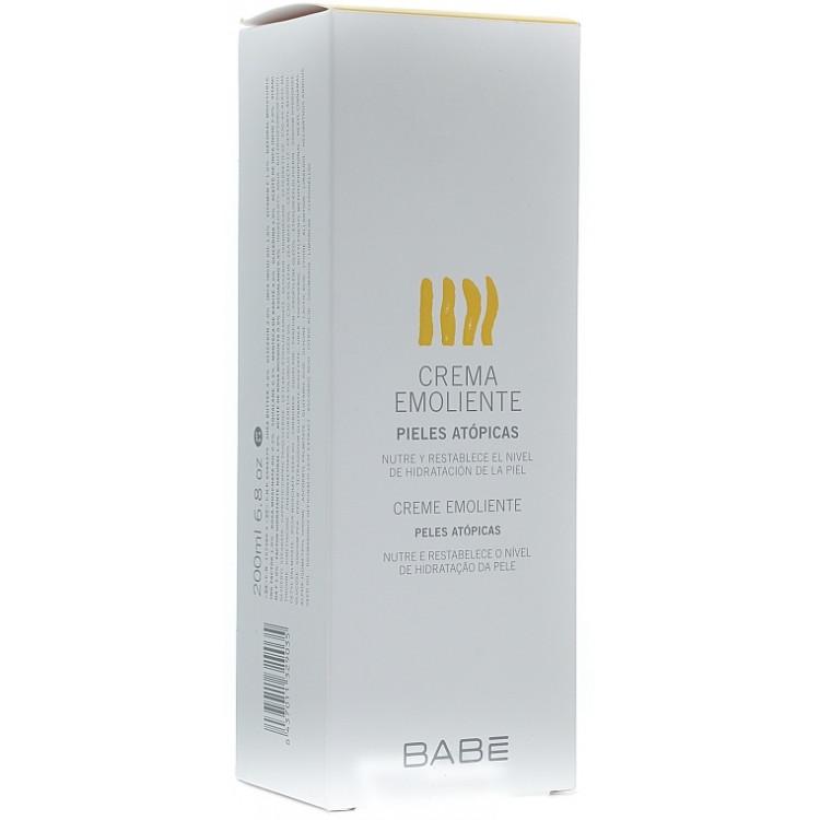 Babe Laboratorios Emollient Cream - Увлажняющий крем для проблемной сухой кожи 200 мл