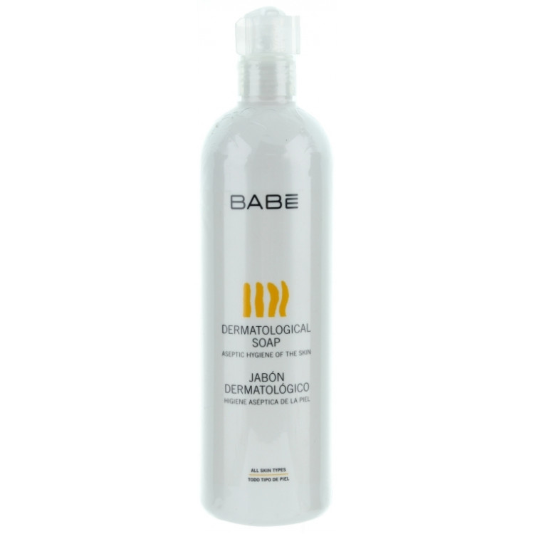 Babe Laboratorios Soap - Дермасептическое бактерицидное мыло для тела и рук 1000 мл