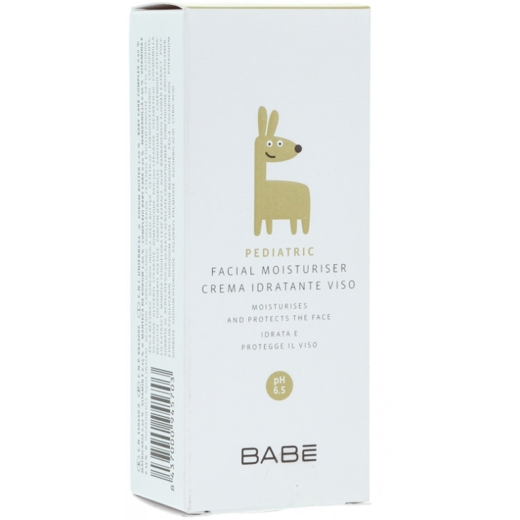 Babe Laboratorios Facial Moisturiser - Увлажняющий крем для лица детский 50 мл