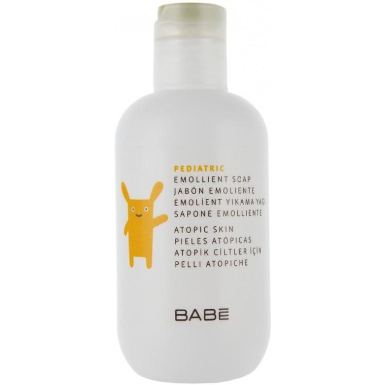 Babe Laboratorios Emollient Soap - Смягчающее мыло для душа детское 200 мл