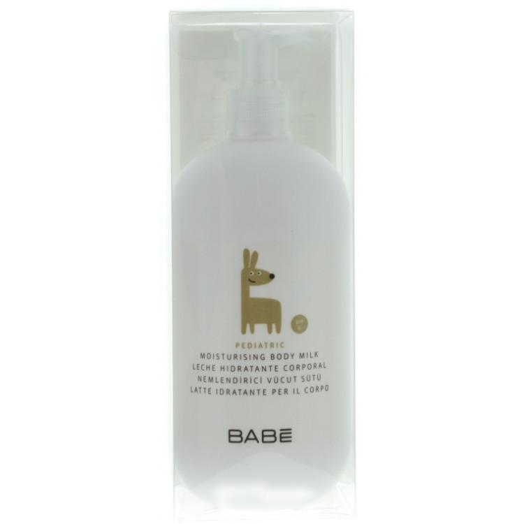 Babe Laboratorios Moisturising Body Milk - Увлажняющее молочко для тела детское 500 мл