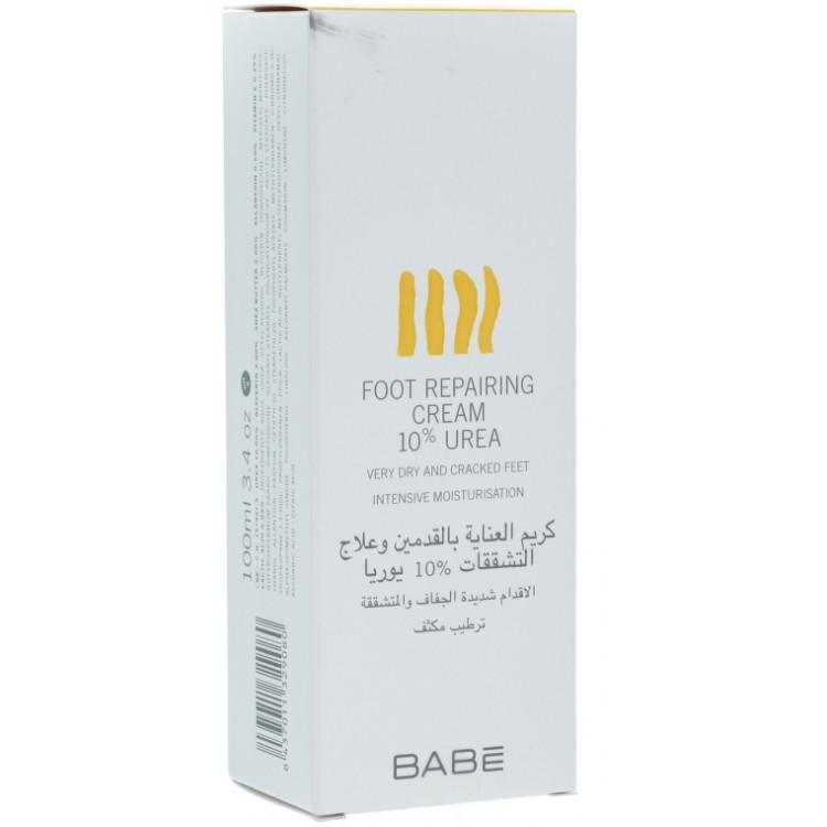 Babe Laboratorios Foot Repairing Cream 10 % Urea - Крем для ног с 10% уреа 100 мл