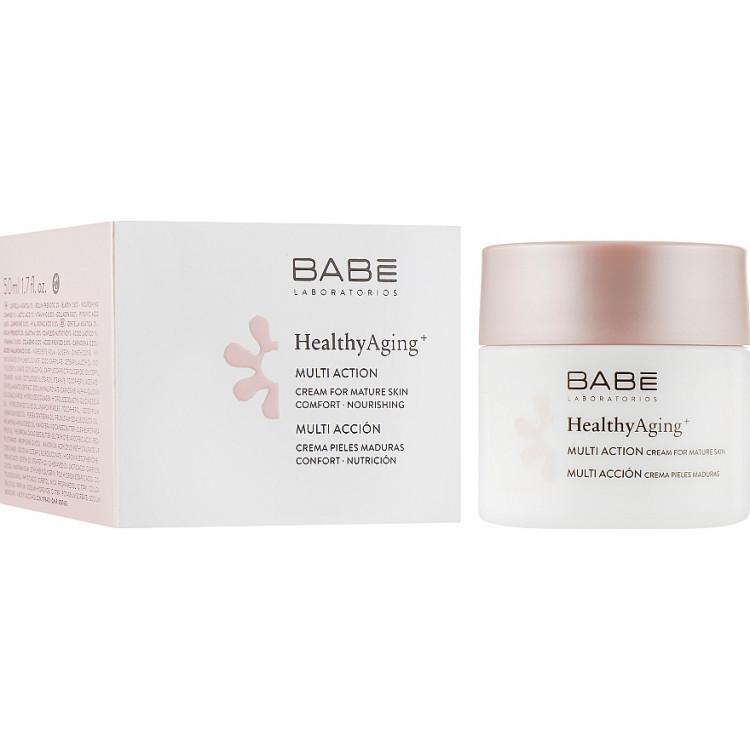 Babe Laboratorios Healthy Aging Multi Action Cream- Мультифункциональный крем для очень зрелой кожи 50 мл
