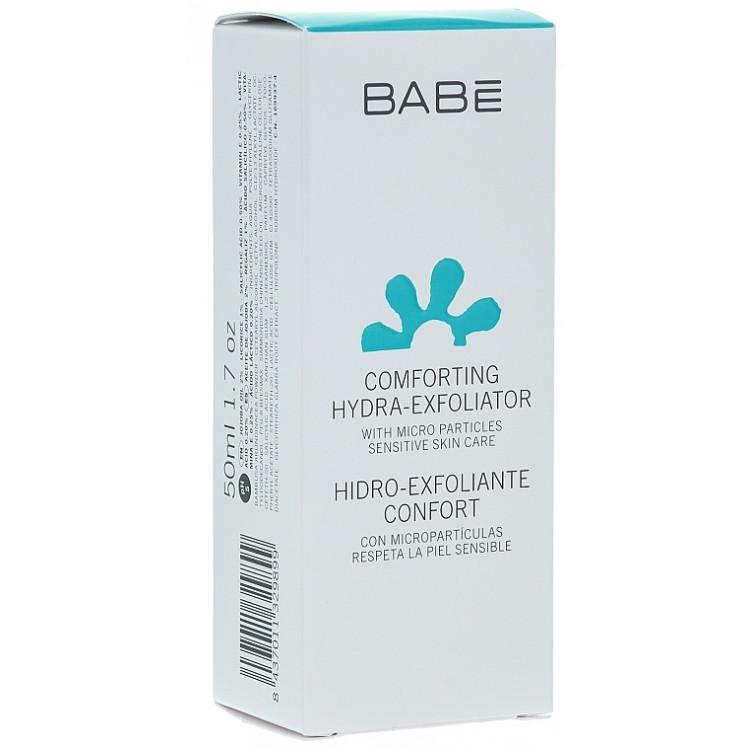 Babe Laboratorios Comforting Hydra-Exfoliator - Мягкий увлажняющий скраб для лица 50 мл