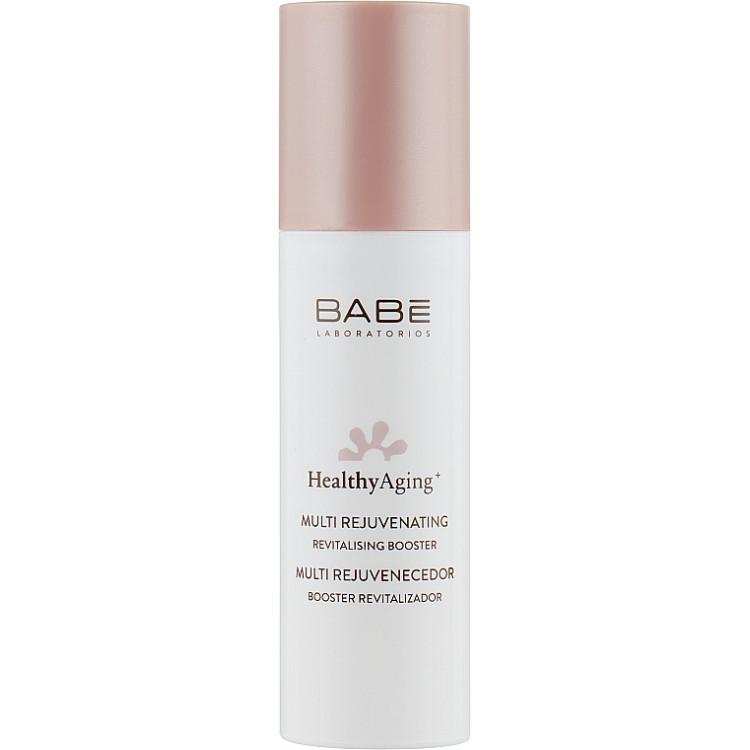 Babe Laboratorios Healthy Aging Multi Rejuvenating Revitalising Booster - Мультиомолаживающая сыворотка 50 мл
