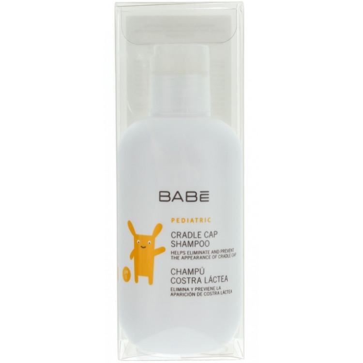 Babe Laboratorios Cradle Cap Shampoo - Шампунь для сухой кожи головы от себорейных корочек 200 мл