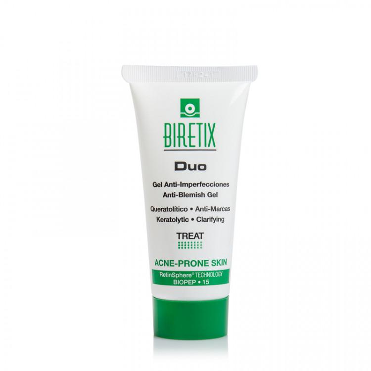 BiRetix Duo - Purifying Exfoliant Gel / Anti-Blemish Gel – Себорегулирующий гель, 30 мл