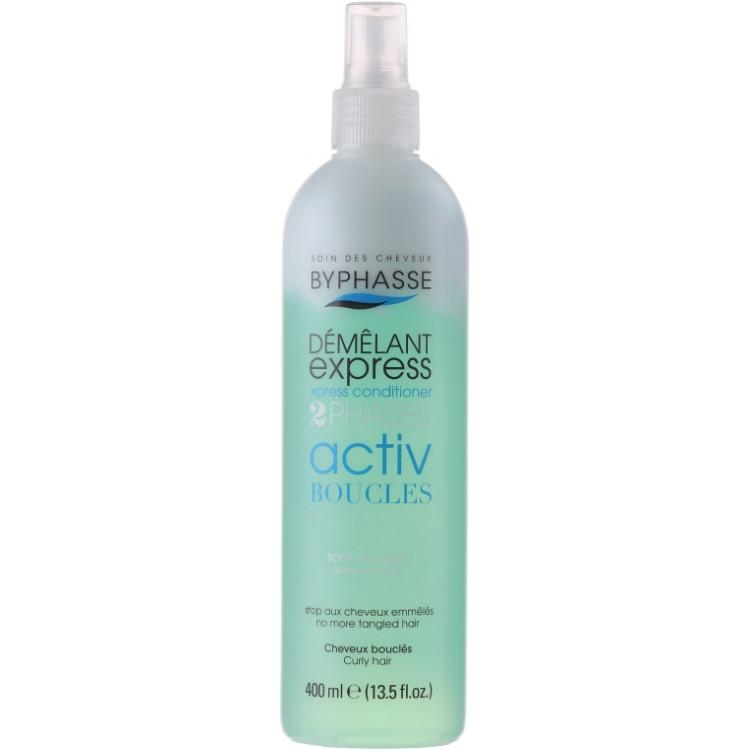 Byphasse Express 2 Phases Activ Boucles Curly Hair-Спрей для вьющихся волос 400 мл