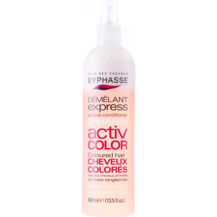 Byphasse Express 2 Activ Color-Спрей для окрашенных волос 400 мл