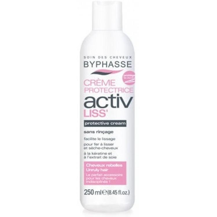 Byphasse Activ - Разглаживающий крем для вьющихся волос 250 мл