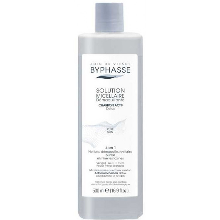 Byphasse Micellar Make-Up Remover Solution-Мицеллярная вода 500 мл