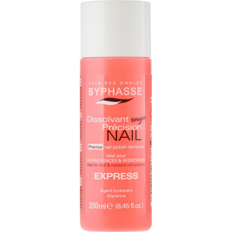 Byphasse Nail Polish Remover Express - Средство для снятия лака 250 мл