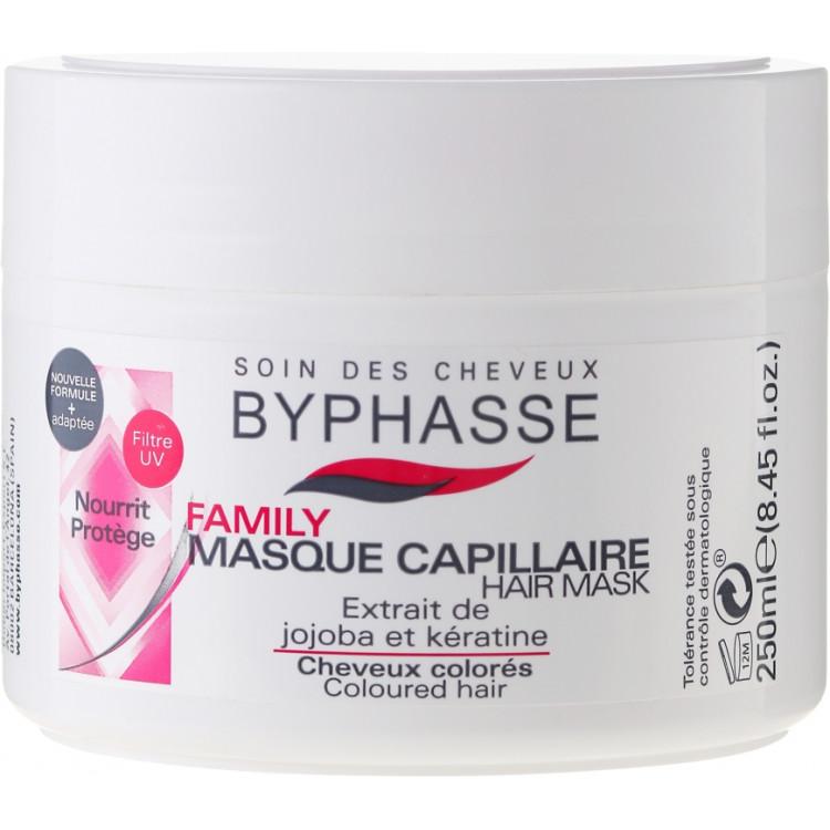 Byphasse Family Coloured Hair Mask - Маска для окрашеных волос 250 мл