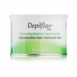 Hair removal wax 400 ml - Теплый воск в банке Азуленовый