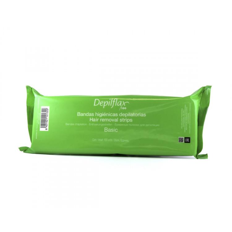 Hair removal strips - Полоски для депиляции 7,5x23 см 100 шт
