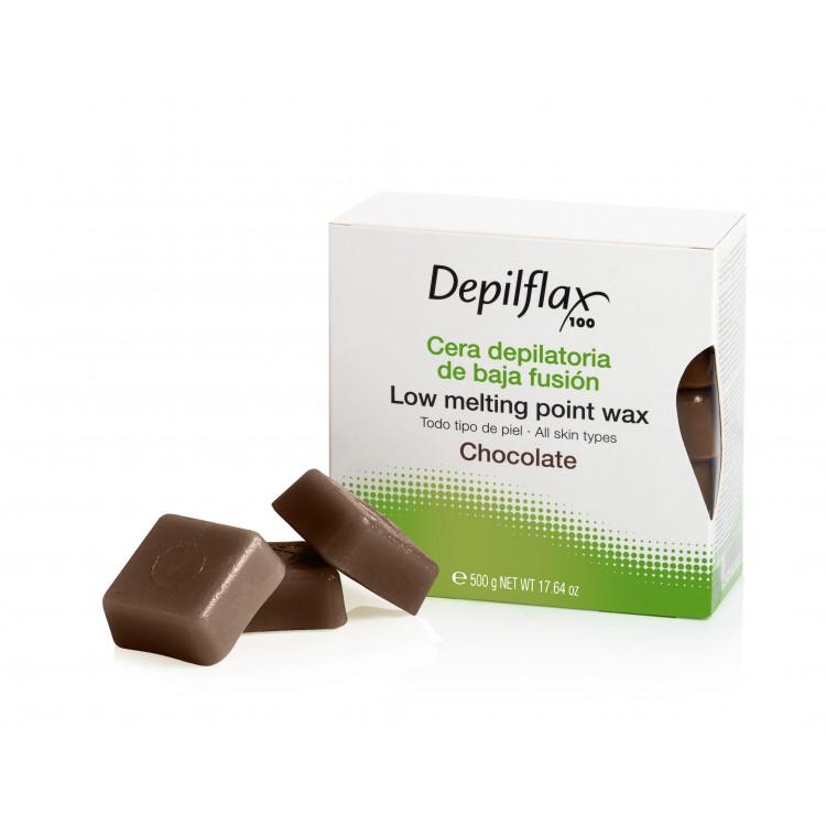 Hair removal wax 500 g - Горячий воск Шоколад в брикетах