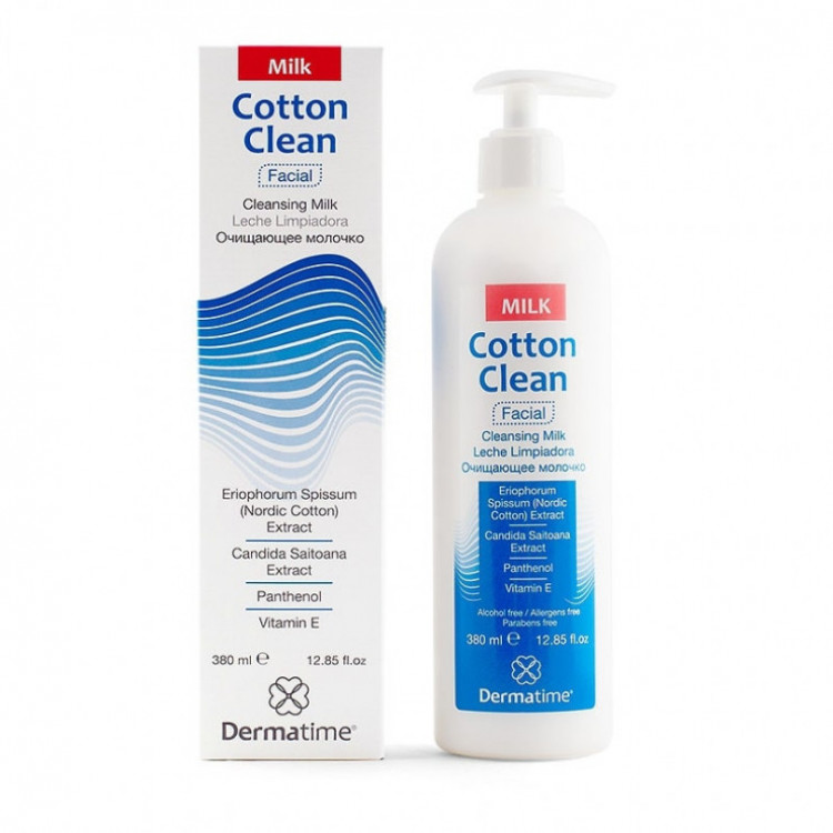 COTTON CLEAN CLEANSING MILK - ОЧИЩАЮЩЕЕ МОЛОЧКО 380 МЛ
