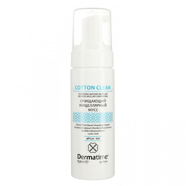 Dermatime COTTONCLEAN Cleansing Mousse Micellar 150 ml - Очищающий мицеллярный мусс