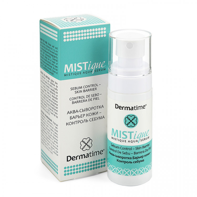 Dermatime MISTIQUE Aqua-Serum - Аква-сыворотка контроль себума, 50 мл