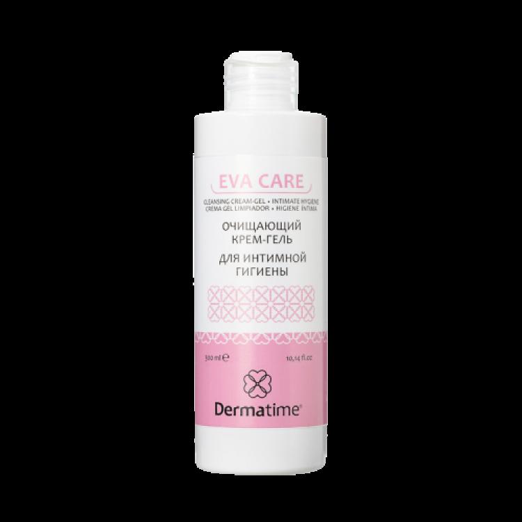 Dermatime EVA CARE 300 ml - Очищающий крем-гель для интимной гигиены
