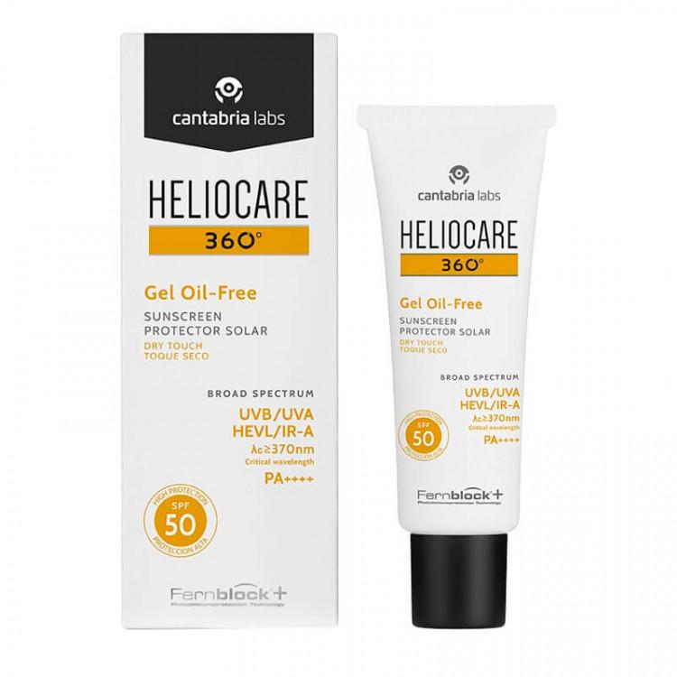 360º Gel Oil-Free Dry Touch 50 ml – Солнцезащитный гель с SPF 50 для нормальной и жирной кожи