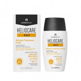 360º Mineral Fluid Sunscreen 50 ml – Солнцезащитный минеральный флюид SPF 50 для чувствительной кожи
