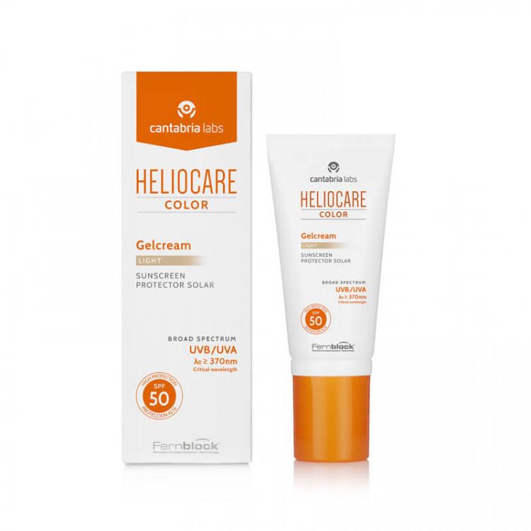 Color gel-cream light 50 ml – Тональный солнцезащитный гель-крем с SPF 50