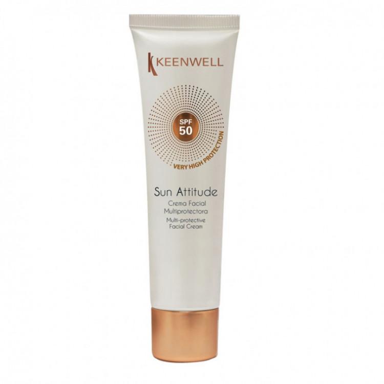 Sun Attitude - Мультизащитный крем для лица СЗФ-50 60 мл