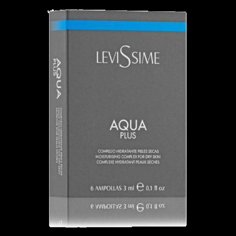 Levissime AQUA PLUS 6*3 ml - Увлажняющий комплекс