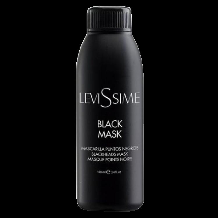 Levissime BLACK MASK 100 ml - Черная пленочная маска для проблемной кожи