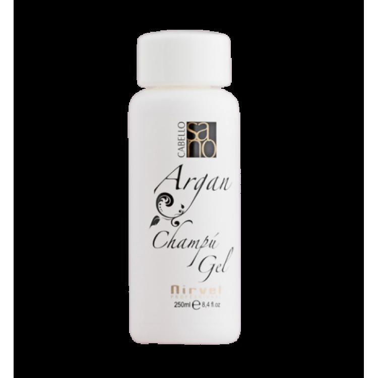 Argan shampoo gel Шампунь-гель для волос с маслом арганы 250 мл