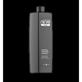Keratin & panthenol shampoo Питательный шампунь с кератином и пантенолом