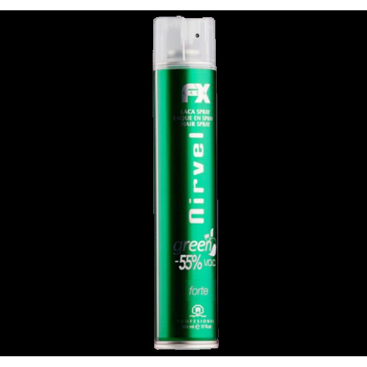 Green Basic Hair spray Лак для волос сильной фиксации 500 мл