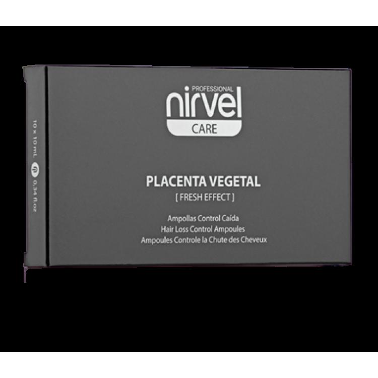 Hair loss control placenta Ампулы против выпадения волос с плацентой (при жирной голове) 10*10 мл