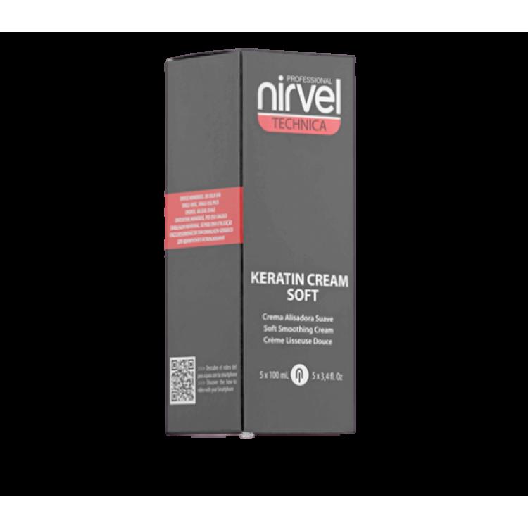 Soft smoothing cream Разглаживающий крем для тонких и осветленных волос 5*100 мл