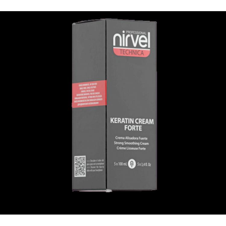 Strong smoothing cream Разглаживающий крем для натуральных и жестких волос 5*100 мл