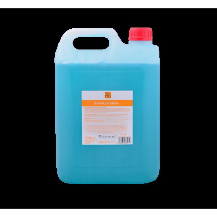 Shampoo herbal+ Салонный шампунь для всех типов волос 5000 мл