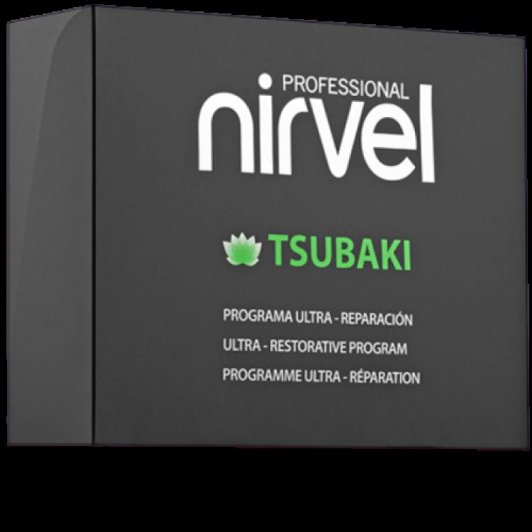 Tsubaki restorative program Набор для интенсивного восстановления и защиты волос