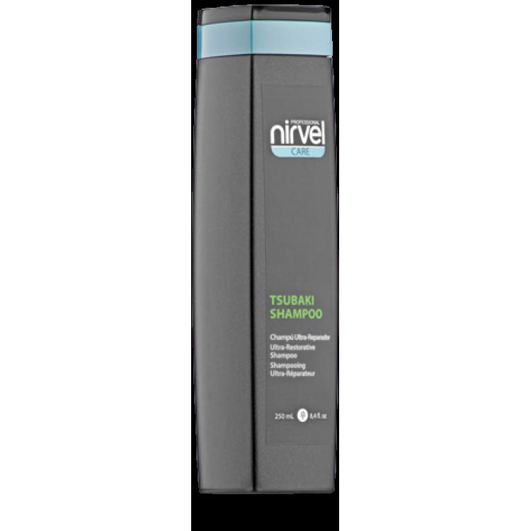 Tsubaki shampoo Ультра-восстанавливающий шампунь для сухих и поврежденных волос
