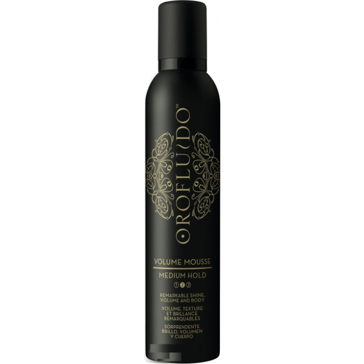 Orofluido Styling Volume Mousse - Мусс для объема волос средней фиксации 300 мл