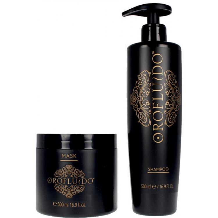 Orofluido Liquid Gold - Набор Шампунь 500 + Маска 500 мл