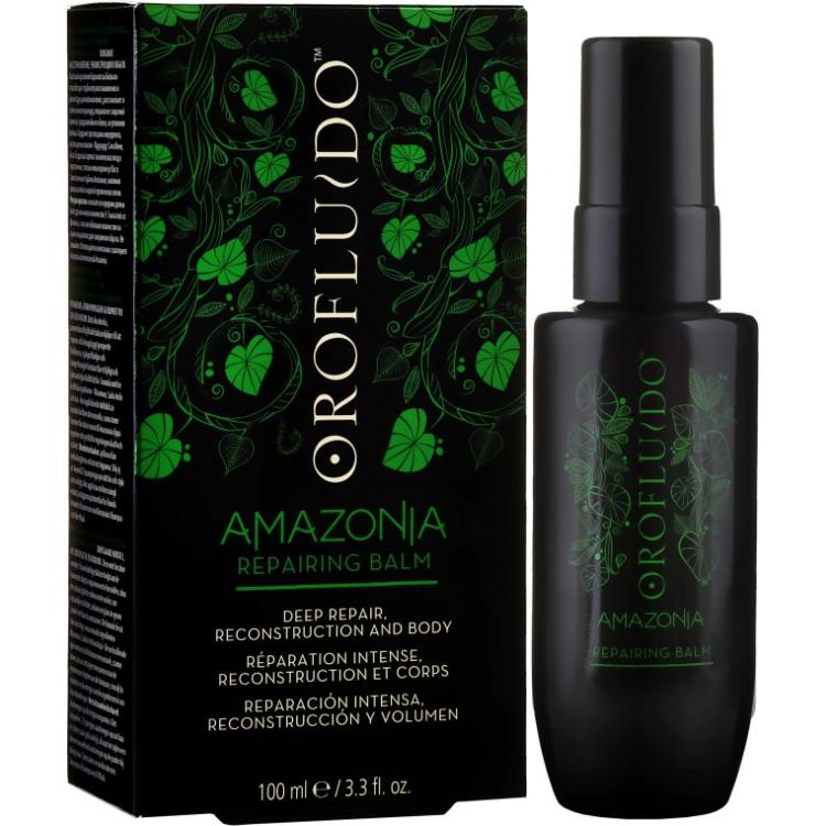 Orofluido Amazonia Repairing Balm - Несмываемый восстанавливающий бальзам для волос 100 мл