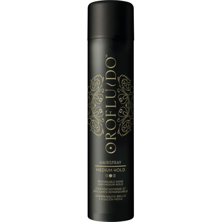 Orofluido Styling Medium Hair Spray- Лак для волос средней фиксации 500 мл