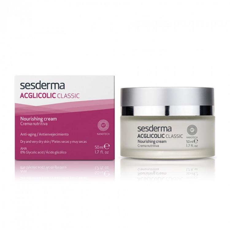 ACGLICOLIC CLASSIC Nourishing cream – Крем питательный с гликолевой кислотой, 50 мл