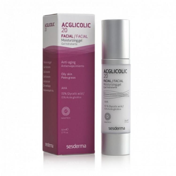 Acglicolic 20 Facial Moisturizing Gel 50 ml - Гель увлажняющий