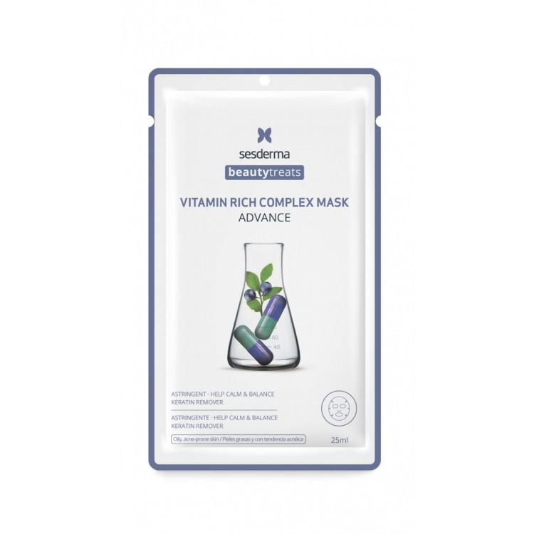 BEAUTYTREATS Vitamin rich complex mask – Маска для сияния кожи, 25 мл